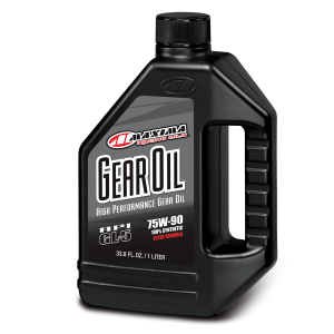 Maxima Oils - Synthetic Gear Oil - Liter/33.8oz