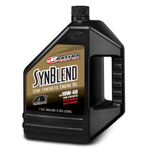 Maxima Oils - Syn Blend Ester - 10W-40, 128oz/1 Gallon