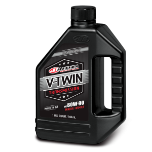 Maxima Oils - V-Twin Trans/Gear Oil - 80W-90, 1 Liter/33.8oz