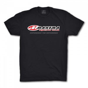 Maxima Oils - Maxima Logo Regular Fit T-Shirt - Black, L