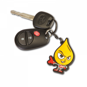 Maxima Oils - Oily Guy Keychain