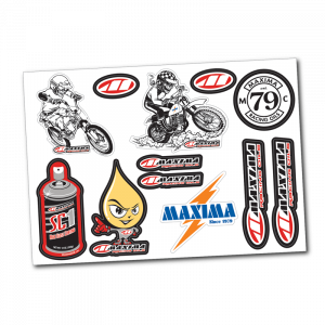 Maxima Oils - Vintage Decal Sheet