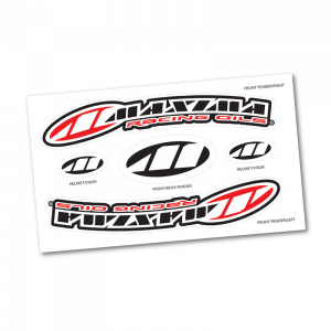 Maxima Oils - Front Fender Decal Sheet