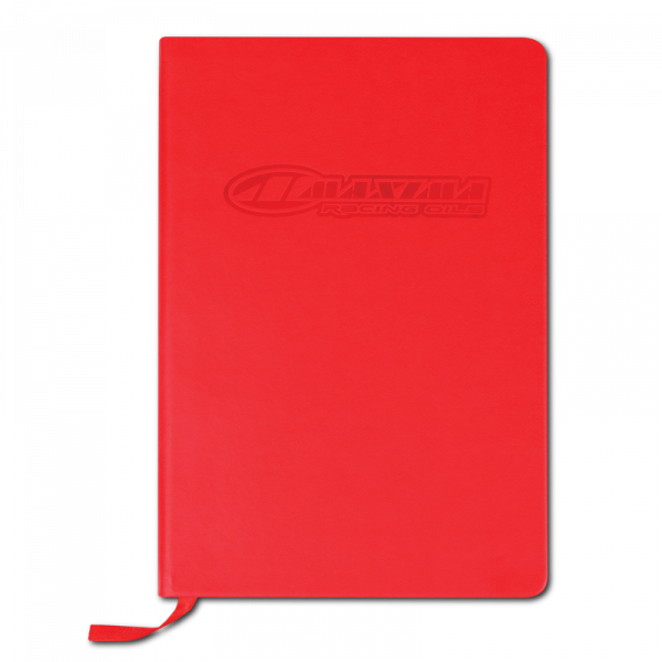 Maxima Oils - Embossed Hard Back Notebook A5