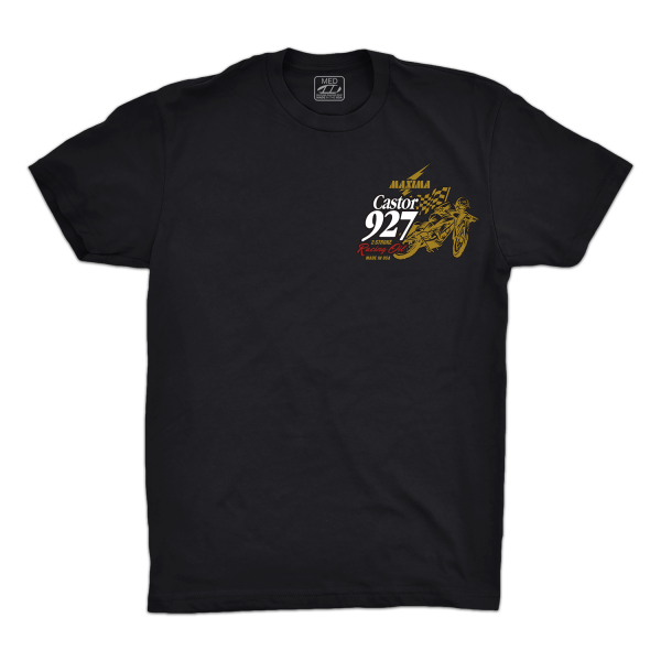 Maxima Oils - Castor 927 Fitted Tee (Men's) - S