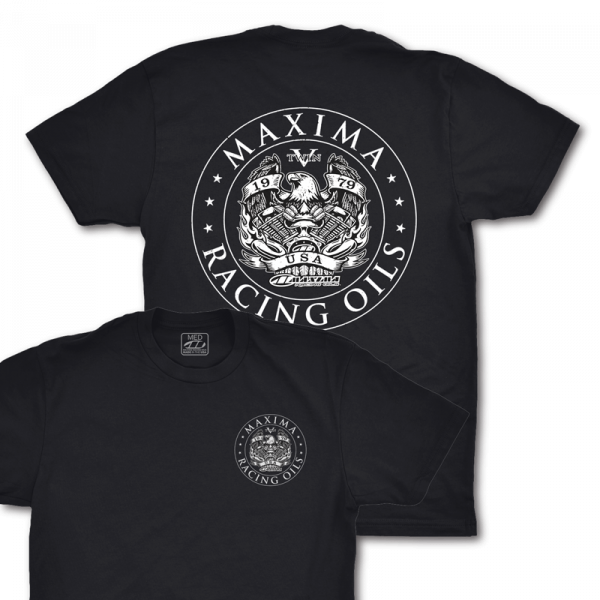 Maxima Oils - V-Twin Classic T-Shirt (Fitted) - M