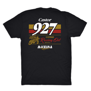 Maxima Oils - Castor 927 Fitted Tee (Men's) - L - Image 2