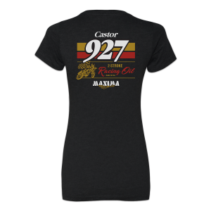 Maxima Oils - Castor 927 Tee (Women's) - Fitted, XL - Image 2